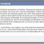 Facebook mais criterioso na criação de perfil