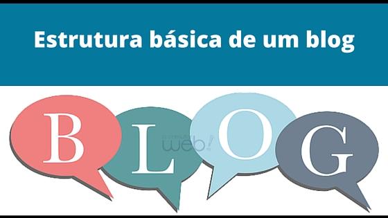 Estrutura básica de um blog