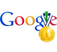 Primeiras posições no Google