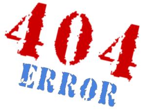 o que é o erro 404 ou link quebrado?