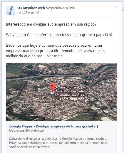 Maior alcance no Facebook