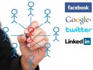 Gerenciar mídias sociais