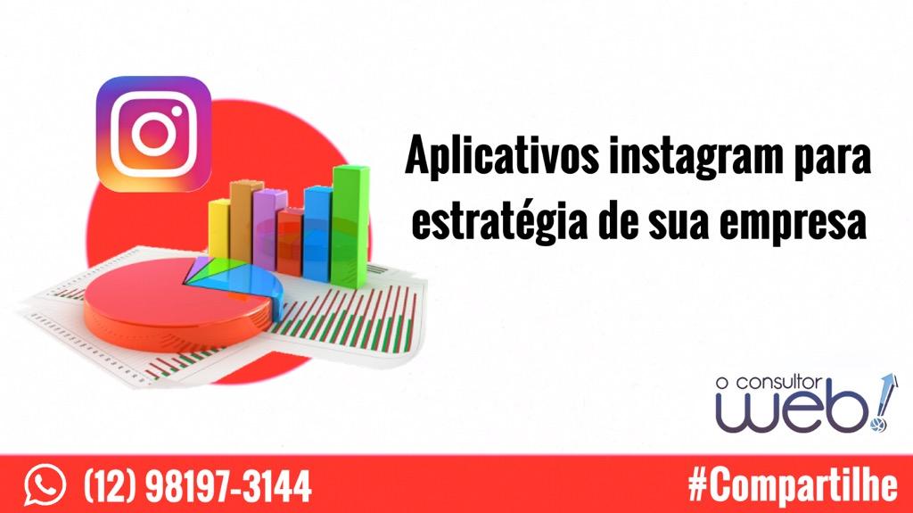 Aplicativos instagram para estratégia de sua empresa