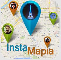 Instamapia mapa de usuários do instagram em sua região