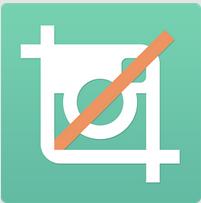 No Crop - manter dimensão da imagem no instagram