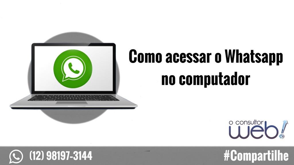 Como acessar o Whatsapp no computador