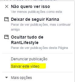 Salvar vídeo