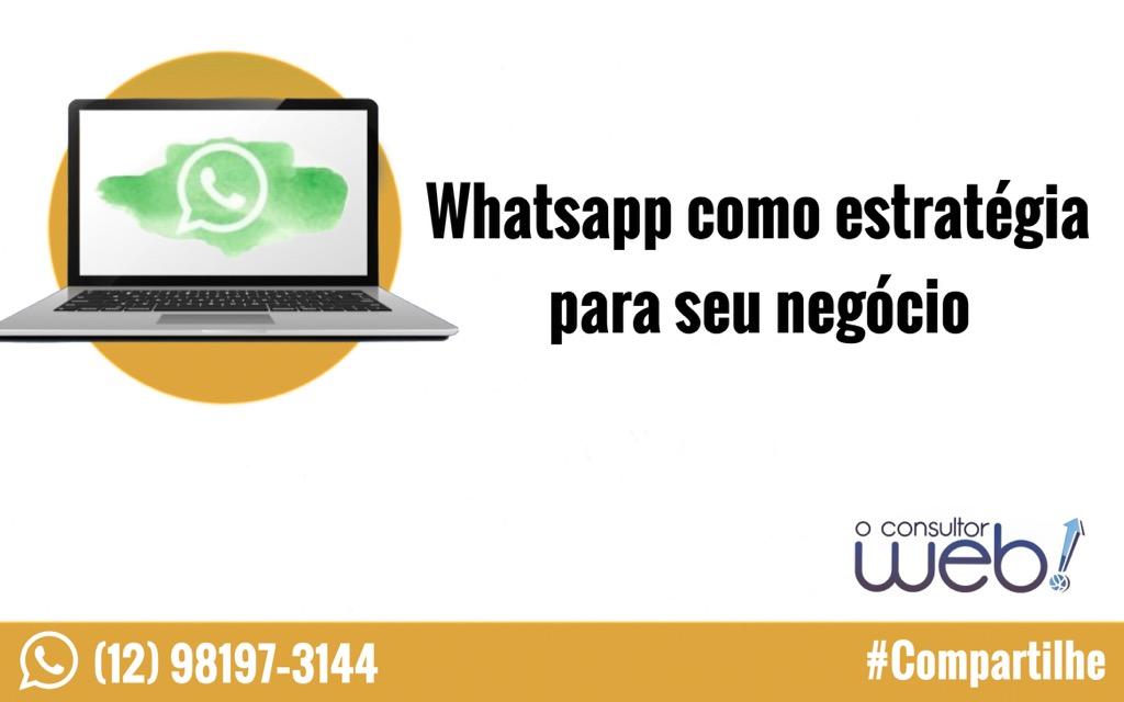 Whatsapp como estratégia para seu negócio