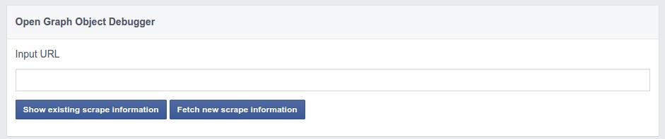 Ferramenta de limpa cache do Facebook