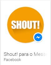 Shout para o Messenger