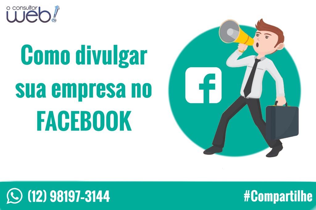 divulgar sua empresa no Facebook