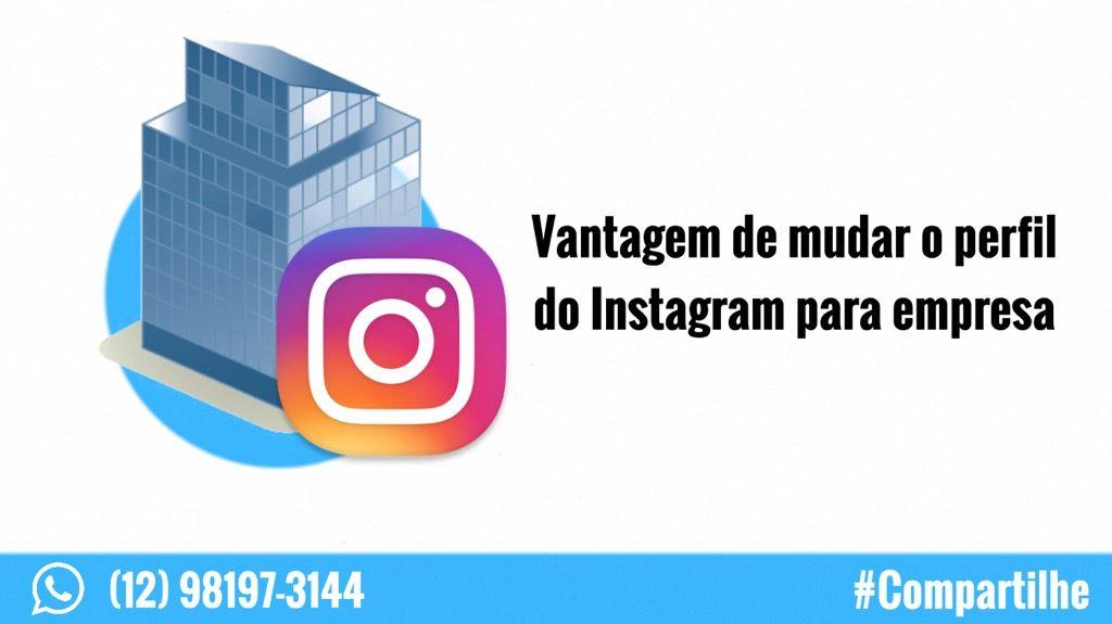 mudar perfil do instagram para empresa