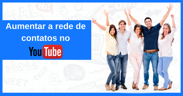 Aumentar sua rede de contatos no Youtube Messenger