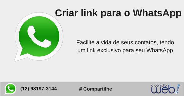 como Criar link para o WhatsApp